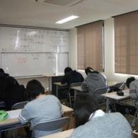 卒業試験 初日