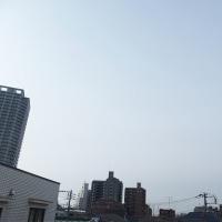 今朝(3月23日)の東京のお天気:晴れ?、(3月の作品:花を持つ少女)