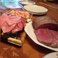 桃の節句とちらし寿司+娘のローストビーフが、これまた絶品  恒例の家族麻雀で・・ぼろ負け ^^!  ブログ