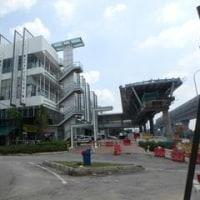 カジャンへ新MRT電車に試乗2。車ばっかり運転しているから分からない。失敗「スンガイブロー~カジャン線」(Sungai Buloh-Kajang Line)