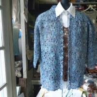 2017年も母が40年間研究したカスパリー編みの応用を教えております。