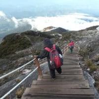 11回目。キナバル山の魅力って?山の魅力って何?あの地震の爪痕もあった。さあ下山するぞ。