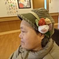 お気に入りの帽子に一工夫