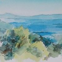 三景台から見た橘湾