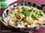 豆乳で作るキムチ肉団子と白菜のクリーム煮
