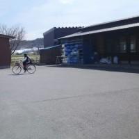 やったー!杏ちゃん…自転車乗れた!