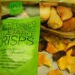 ミラベルのタルト(スーパー)とイギリスの野菜チップス