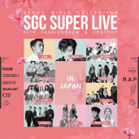 RAIN  RAIN 「SGC SUPER LIVE IN JAPAN 2017」座席表とチケット購入方法