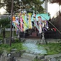 藤坂神社の「七夕飾り」