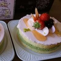 春らしいケーキ