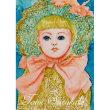 絵画販売・水彩原画「夢見る人形・ビスクドール」