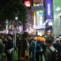 Shibuya haloween night