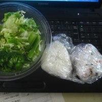 「野菜サラダ」