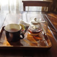 朝のお茶とスーパーフード