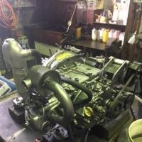 今週も色々なおしました。1980年代のヤンマーディーゼルエンジンYA整備。