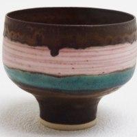 ミュージアム巡り 茶の湯2 ピンク線文碗