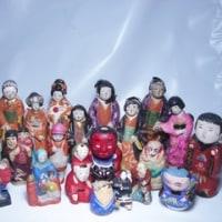 <民藝>土人形・練人形・泥人形・張り子人形