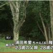 車で子2人と父死亡、林では母が首つり死亡