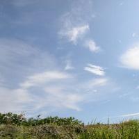 雲の美しい日です
