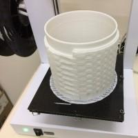 3Dプリンターと こもりん