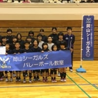 岡山シーガルズバレーボール教室