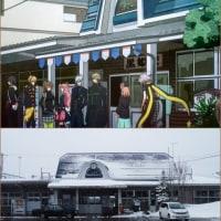 【アニメ】《AMNESIA》(アムネシア)第二話より 黒姫駅(長野県)