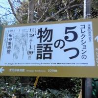 世田谷美術館で、 『開館30周年記念 コレクションの5つの物語』 を見ました。