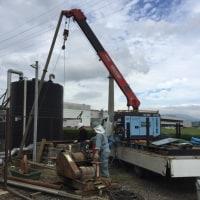 井戸のメンテナンス作業😊