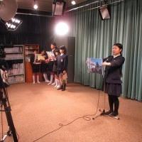 2/20(月)テレビ朝会をしました。
