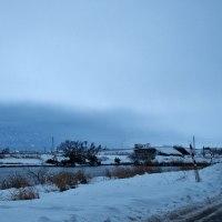 雪の日、常願寺川河口から水橋漁港を経て白岩川をたどる・・・富山市水橋