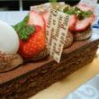 誕生日とケーキ