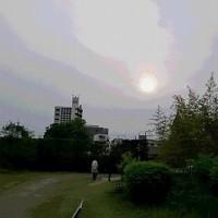 5月19日(金曜日)「黄砂の空」(てまりさん)