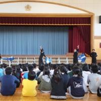 講演会 岩切小学校にて