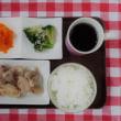 とり肉の塩焼・豚と大根炒め・ブロッコリーのマリネ・人参グラッセ