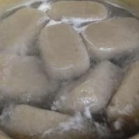 芋からコンニャクを作る