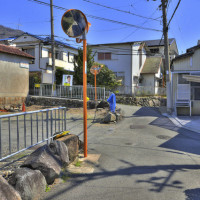 大阪府東大阪市上六万寺町の風景