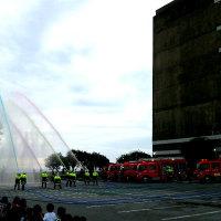 名護市消防出初式