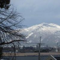 雪の大文字山!