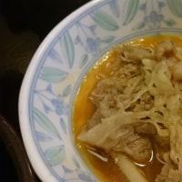 すき家さんの牛すき鍋定食