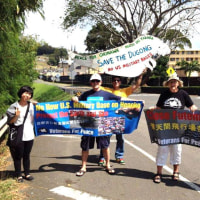 Call for the campaign: Stand with Democracy by Standing With the Okinawan People