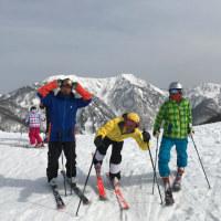 スキージャム勝山0歳児モーグルキャンプ?