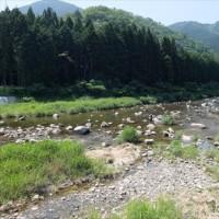 水内川の鮎釣り解禁です