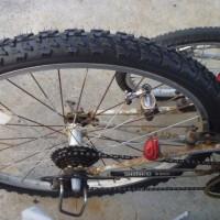 マウンテンバイクのタイヤ交換