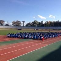 校内ロードレース大会  開会式