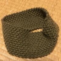 ちょっと休憩・かのこ編みのヘアバンド