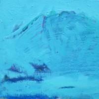 絵とともに226   冬の根子岳 F6号