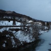 冬の奥会津へ