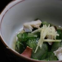 レシピ付き献立 ぶり大根・きのこの卵とじ・きゅうりとわかめの酢の物・さつまいものお味噌汁