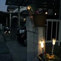 太陽光発電の街灯