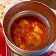 ミートボール入りトマトスープ&お弁当